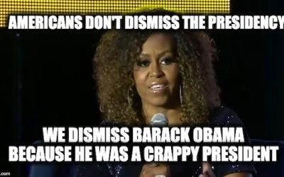 Michelle Obama Calls America Racist for Dismissing Presidency Because 'Black Man Did It'