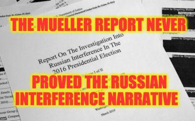 Russia narrative