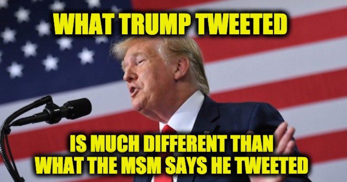 MSM Trump racist
