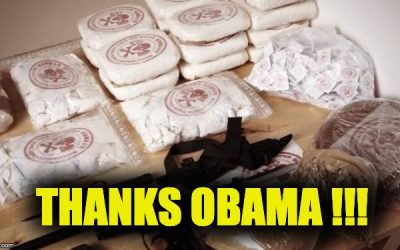 Thanks to Obama, Hezbollah's Still Smuggling Cocaine & Terrorists Via Our Southern Border