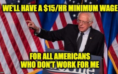 Sanders minimum wage