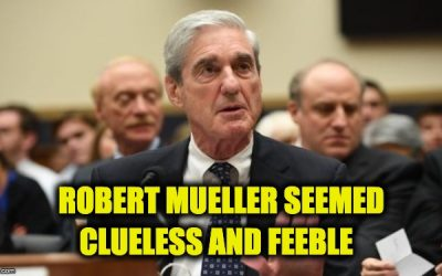Robert Muller Testimony: A Sad, Painful, Train-Wreck, And A Loss For The Dems