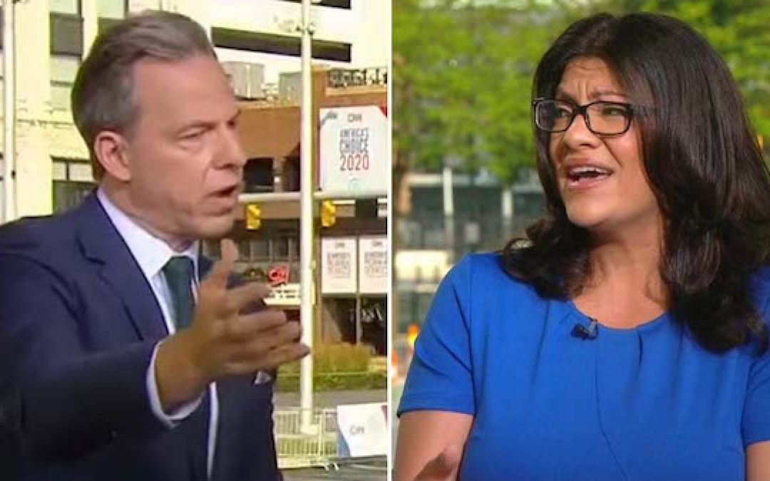 Rep Rashida Tlaib Refuses To Say The Jews Have A Right To A State