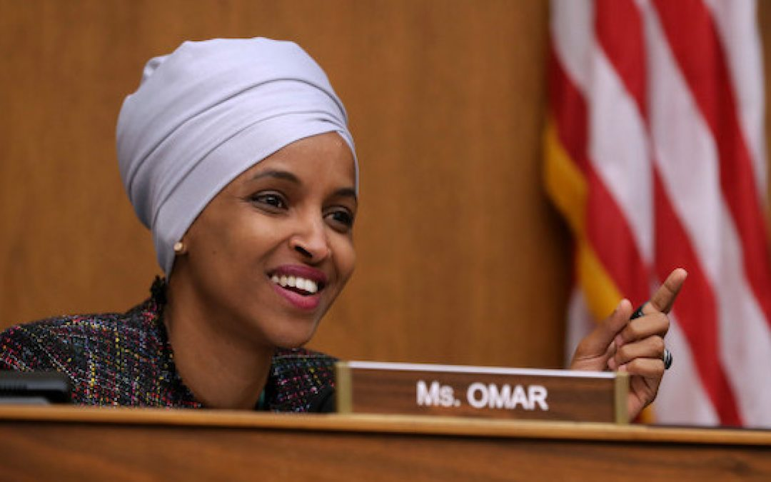 Ilhan Omar (D-MN) Introduces Resolution Supporting Anti-Jewish Bigotry