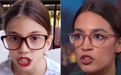 Disgusting! Liberals Doxx And Threaten To Kill 'Mini AOC'