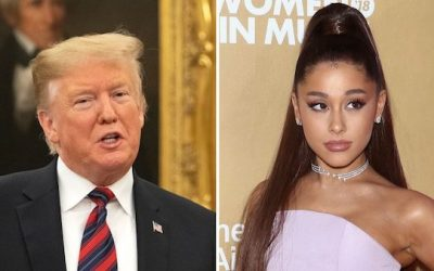 Ariana Grande Slams Trump Supporters 'F**kery'