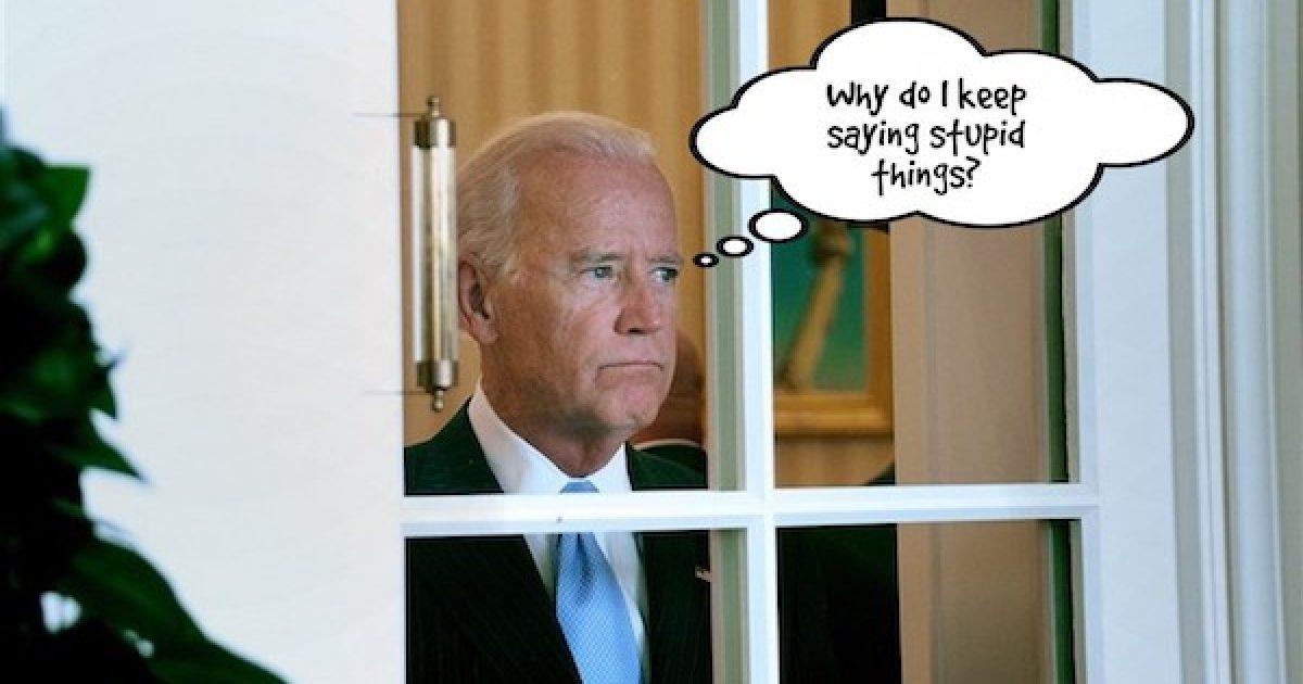 Joe Biden gaffe
