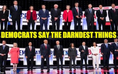 Weird Lines From CNN's Democratic Debates That Nobody Is Covering