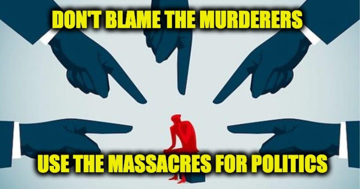 blame for mass shootings