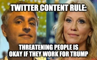 Twitter: Threatening Kellyanne Conway Is Not Against The Rules
