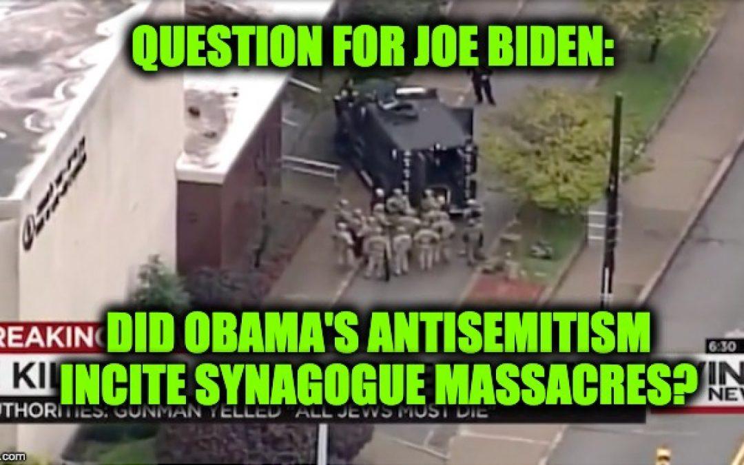 If Trump's Rhetoric Caused El Paso Shooting, Obama's Rhetoric Caused Synagogue Shootings