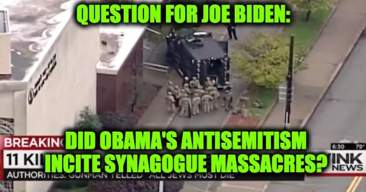 Obama Synagogue shootings