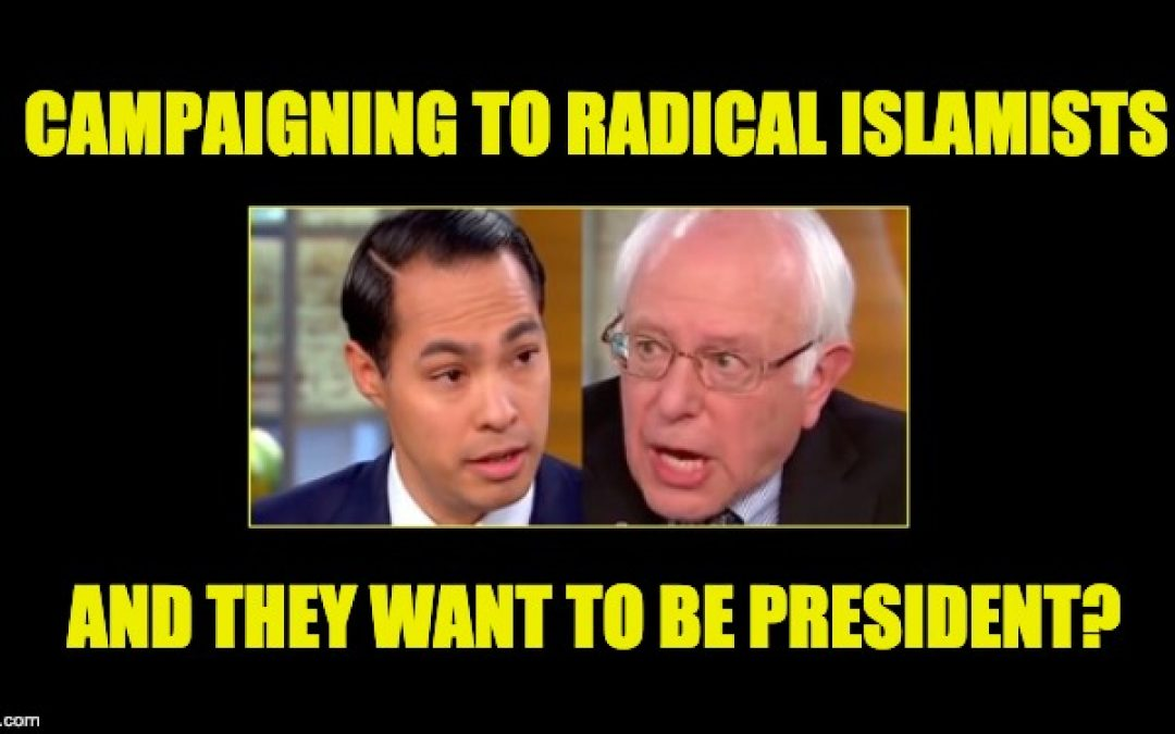 Bernie Sanders And Julian Castro Speaking At Conference For Islamists Linked To Terrorism By DOJ
