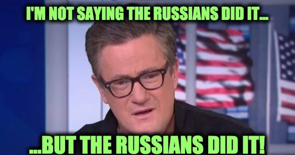 Scarborough blames Russians