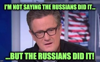 Joe Scarborough Blames Epstein Suicide On THE RUSSIANS And Gets Twitter-Blasted
