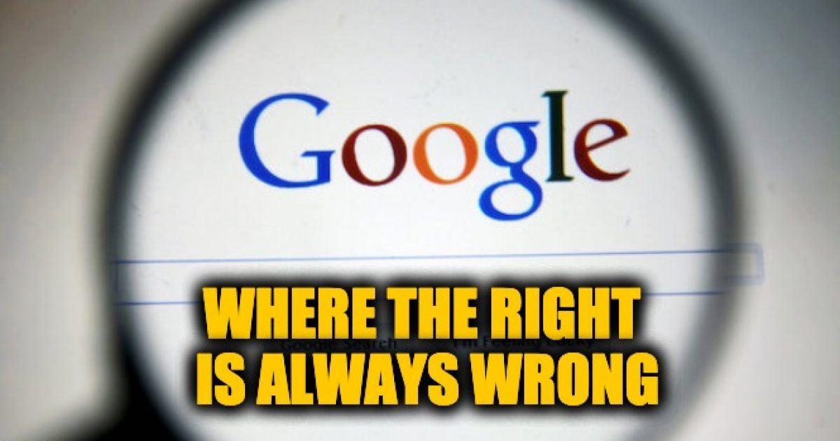 Google far left