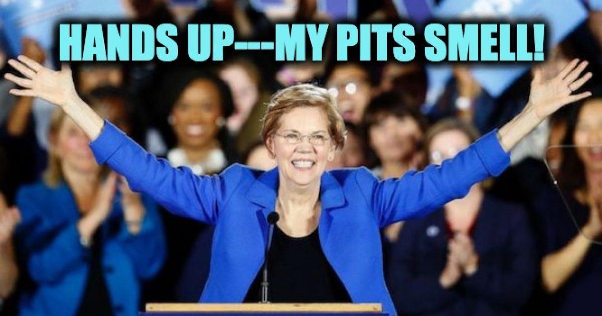 Elizabeth Warren Ferguson lie