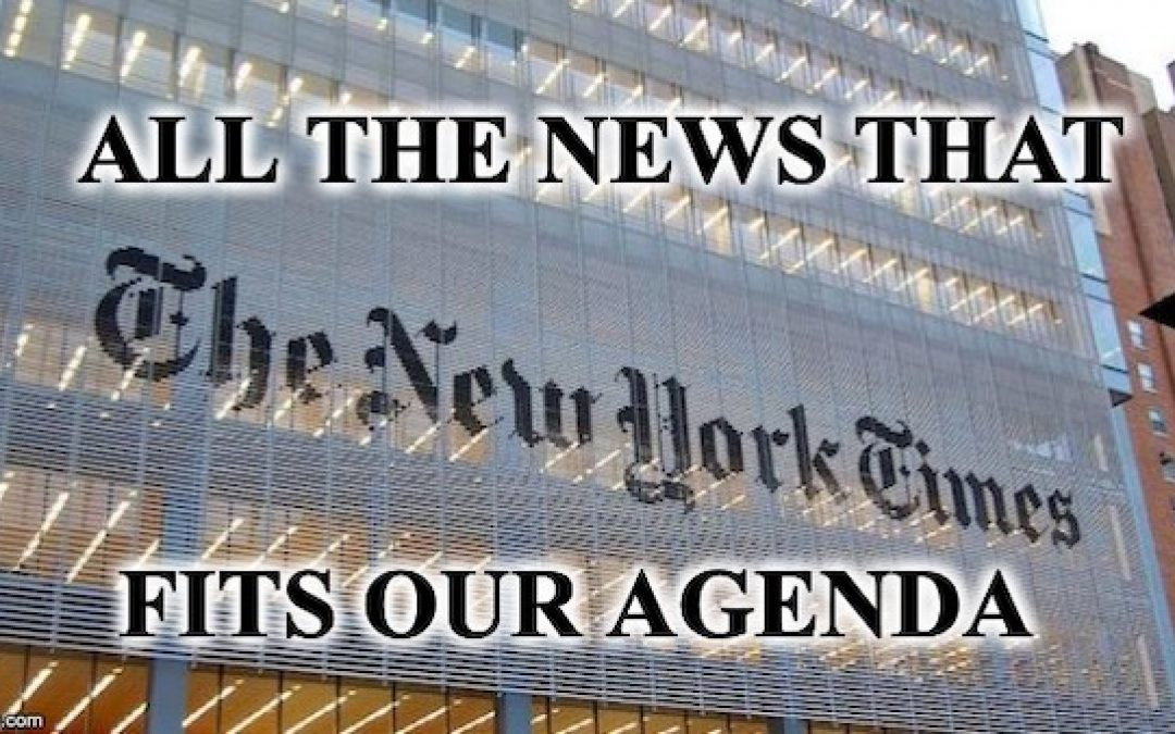 NY Times Editor Admits Paper Is Just A Low-End, Partisan Rag