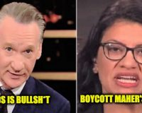 Bill Maher Calls BDS: Bullsh*t Purity Test–Rep. Talib Calls For Boycott Of Maher