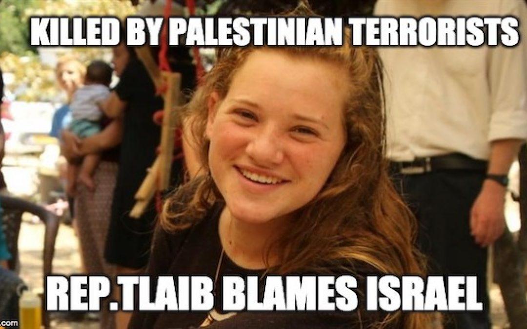 Rep. Rashida Tlaib Blames The Jews For Palestinian Terror Attack