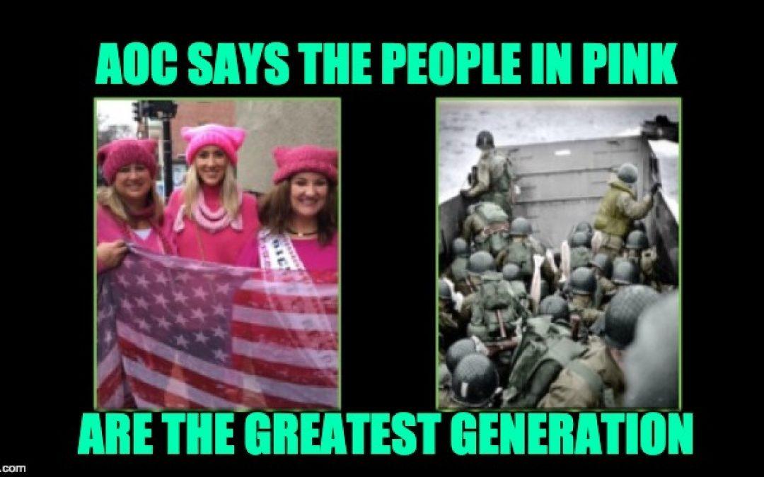 Too Ignorant For Congress? AOC's Greatest Generation Claim