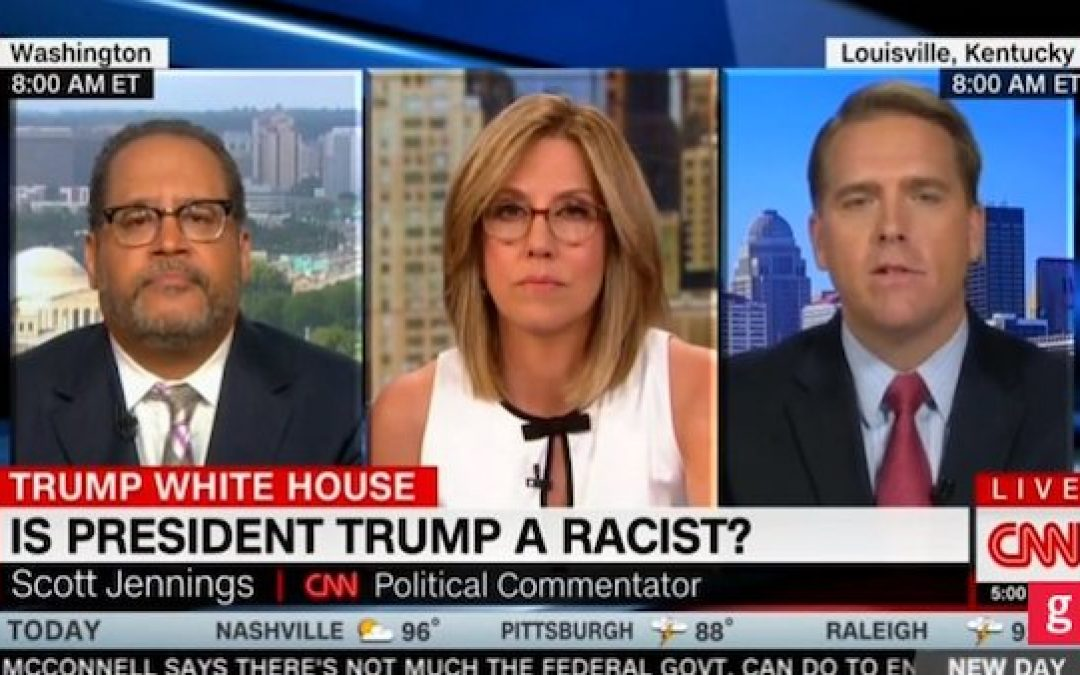 How The Mainstream Media Spins Trump's Words To Make Him Look Racist