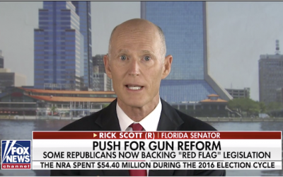 Sen. Rick Scott: Dems Don't Want Solutions, They Just Want To Take Away Your Guns