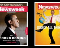 Flashback: When Newsweek Touted Obama's Biblically-Worded Second Coming