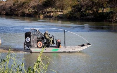 U.S. Border Patrol Patrol Came Under Heavy Fire From Mexico Side of the Rio Grande