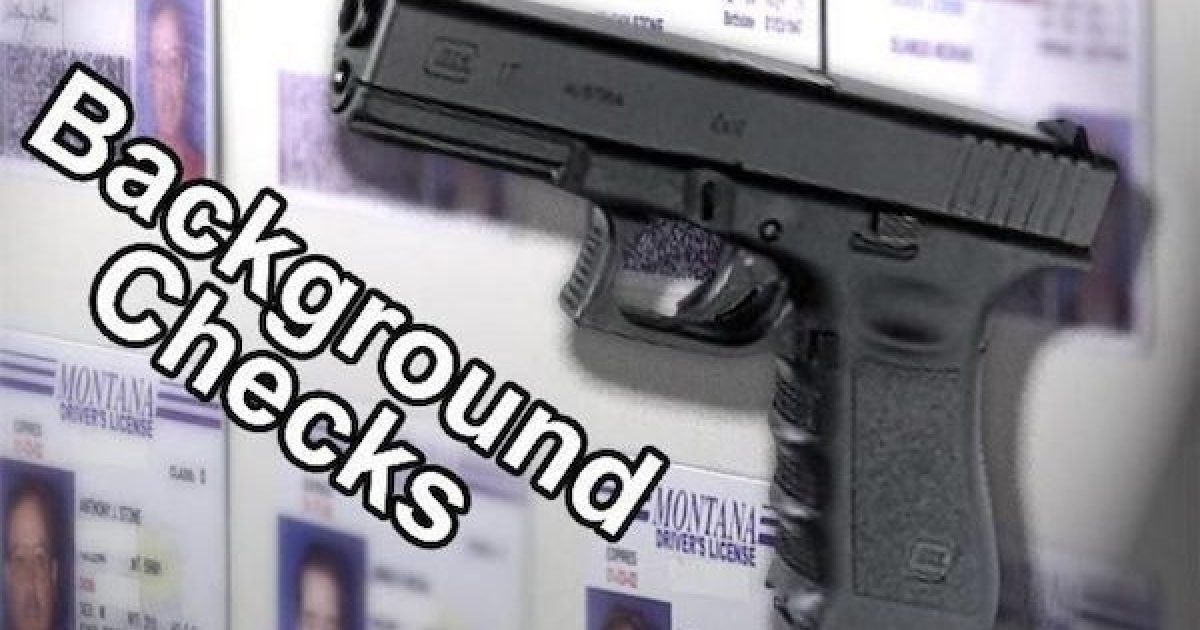 background check proposals