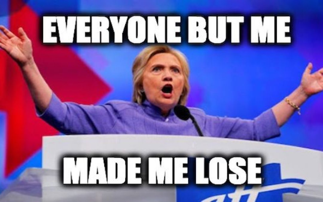 Now Hillary Is Blaming Voter Suppression In Wisconsin For Her Loss
