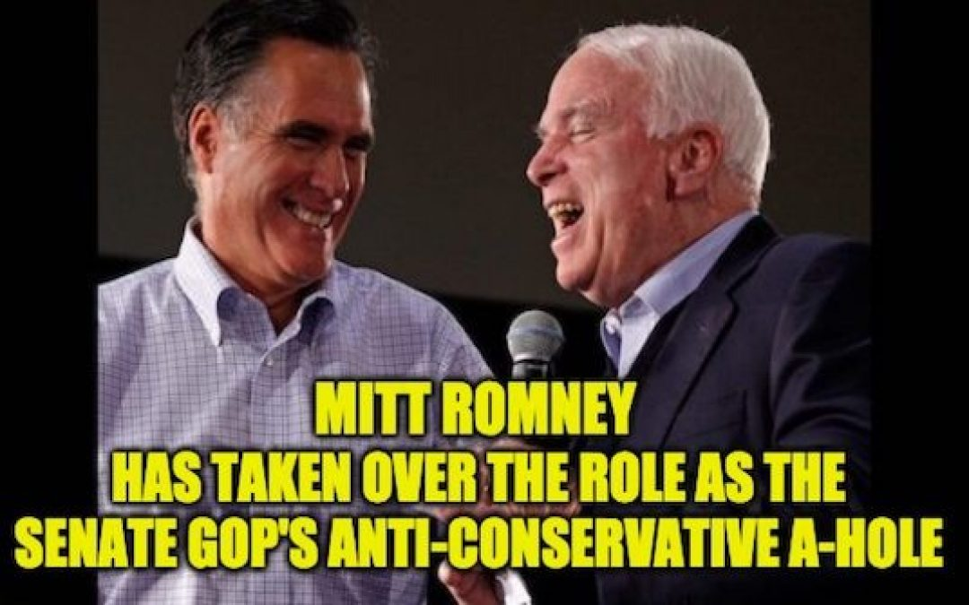 Mitt Romney Refuses to Endorse Trump In the Primary or General Election