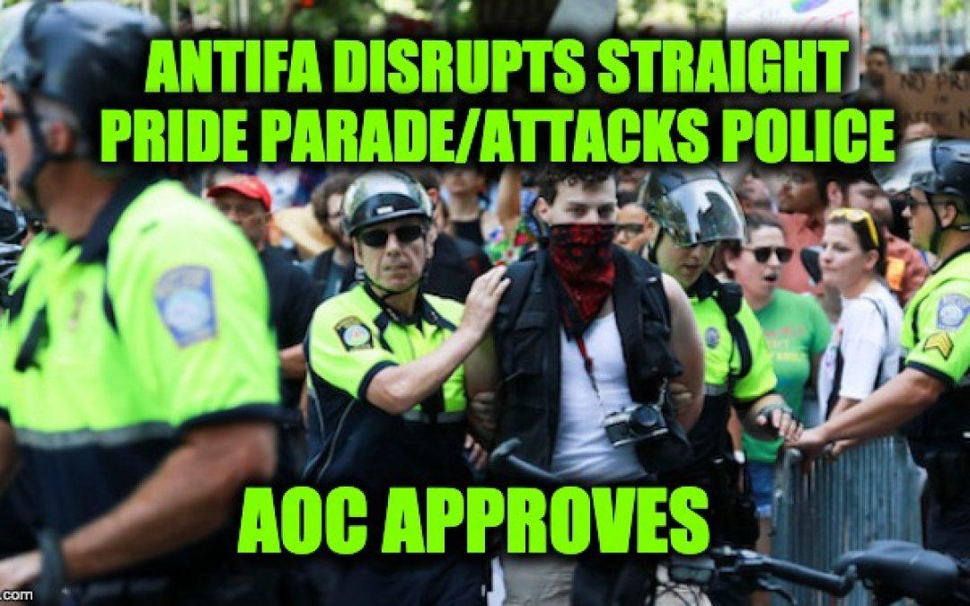 AOC Fund-Raised For Antifa