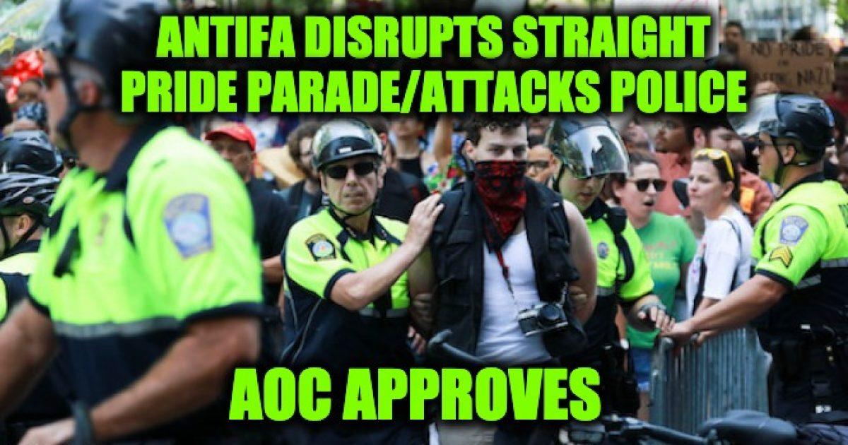 AOC fundraises Antifa