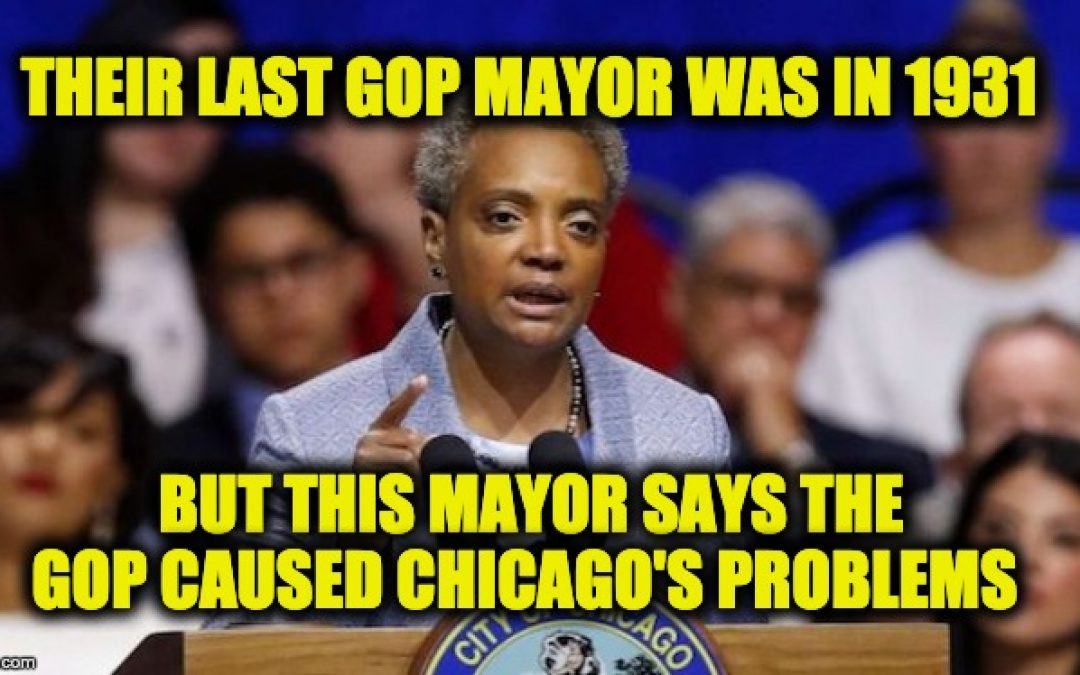 Chicago Mayor Blames GOP For City's Gun Crimes: Gets Schooled On Twitter