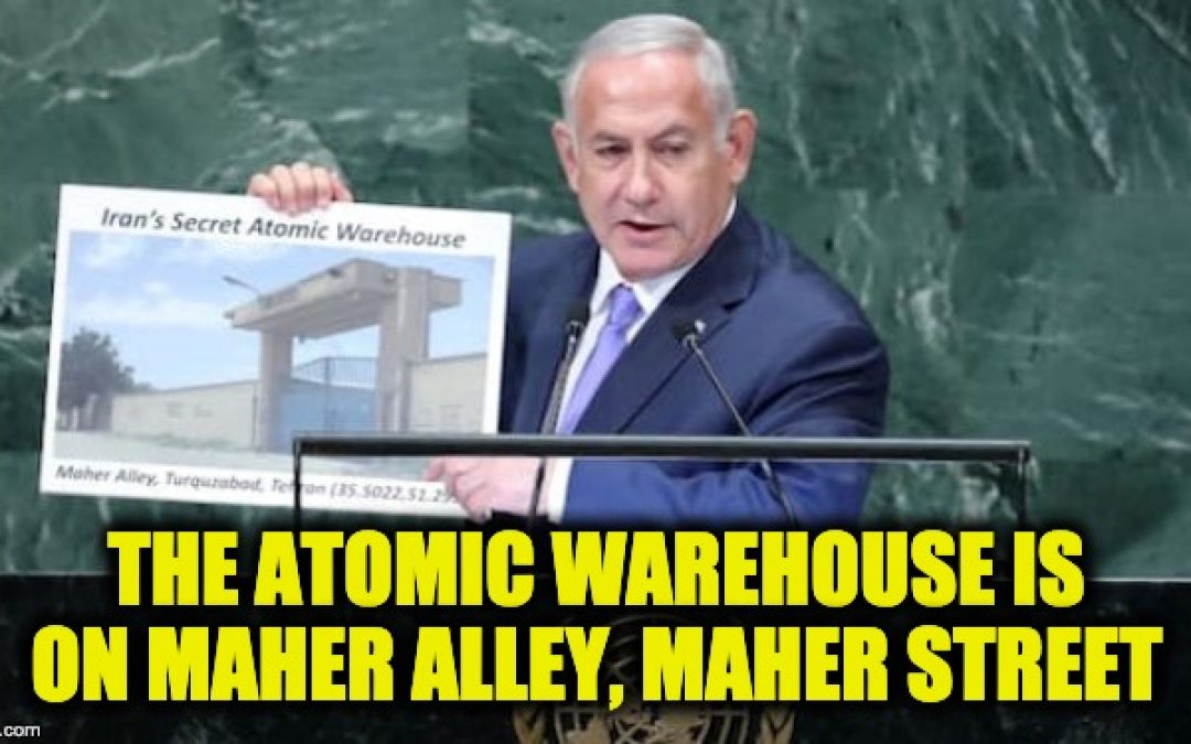 UPDATE: IAEA Find Traces Of Uranium In Iran Atomic Warehouse: Bibi Exposes Another Iran Nuke Site (Video)