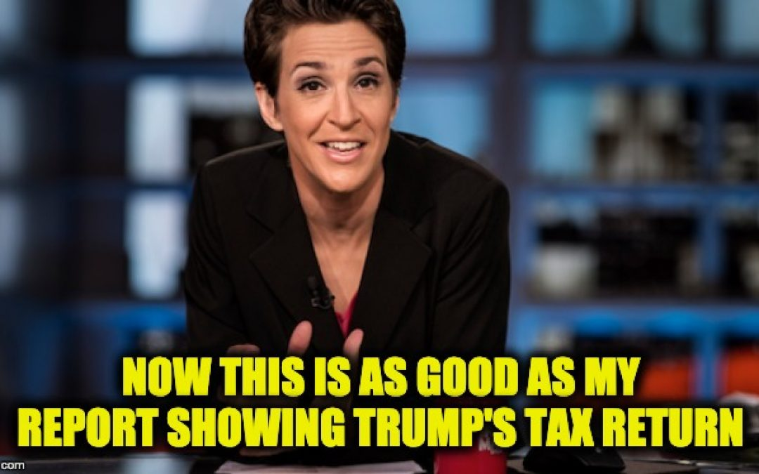 Conservative News Network Files $10 Mil. Defamation Suit Against MSNBC, Rachel Maddow