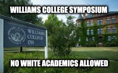 Williams College Sci-Tech Symposium: No White Academics Allowed