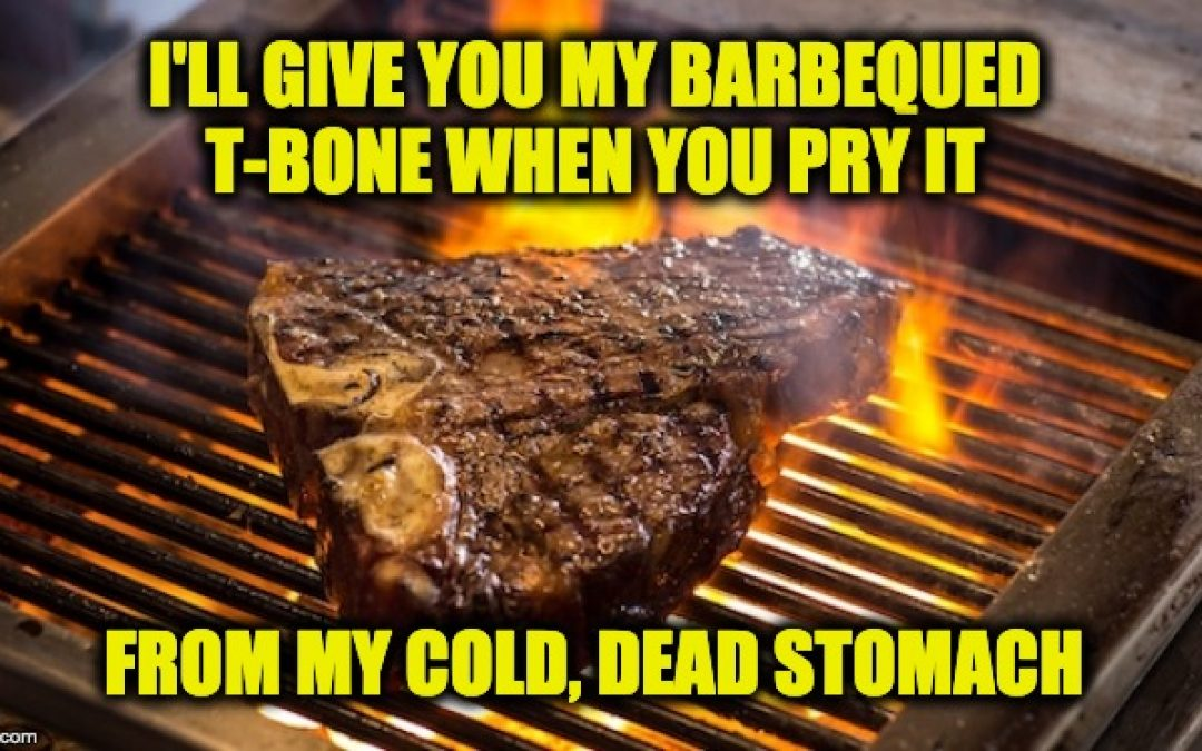 Dems Who Claim Eating Meat Destroys Planet,  Campaign At Iowa Steak Fry