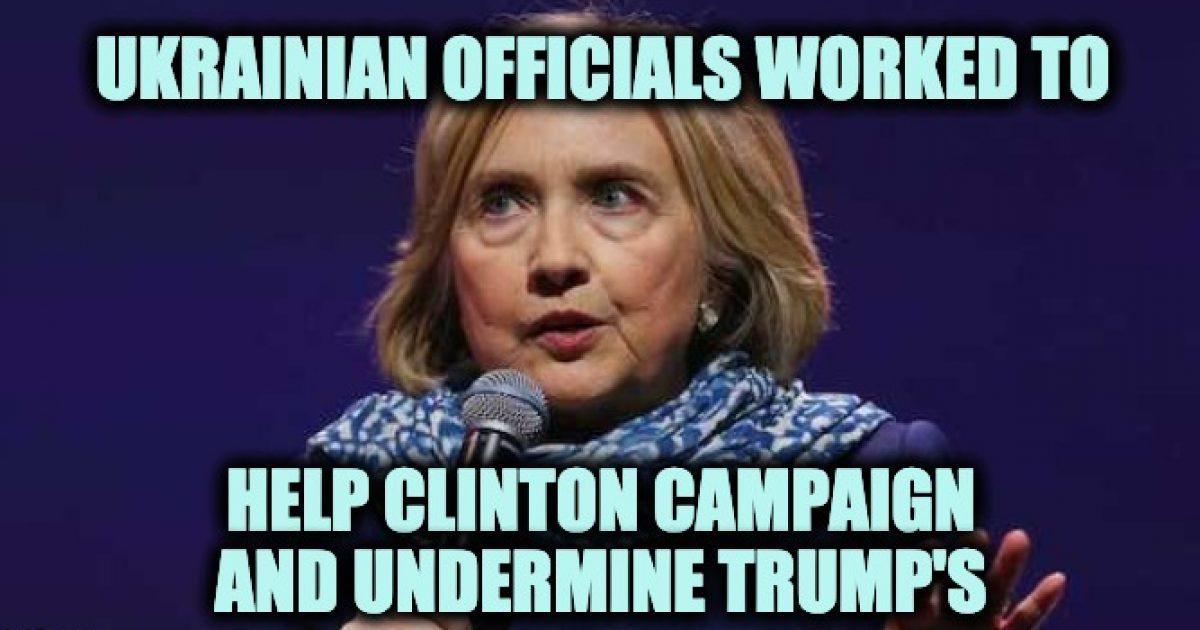 Ukraine Hillary Clinton