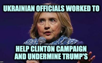 Ukraine Has Evidence Their Govt. Colluded With Clinton Campaign