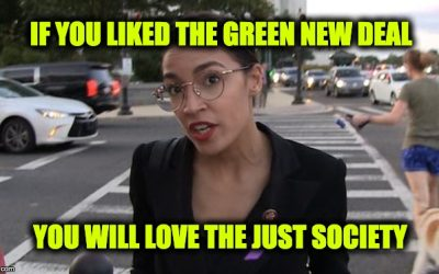 The AOC Just Society Proposal Would Make Society Anything BUT Just