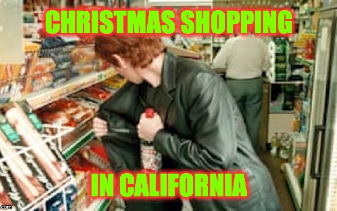 Thieves Going Wild in California, Taking Advantage Of State Law Protecting Shoplifters