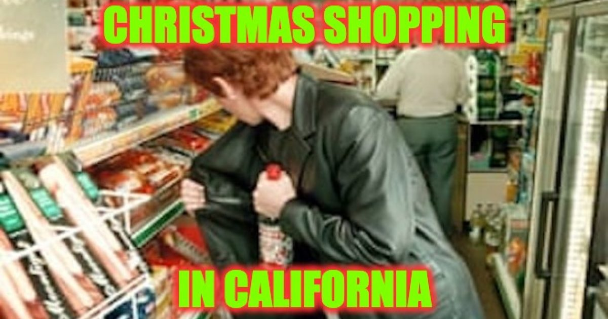 California shoplifters
