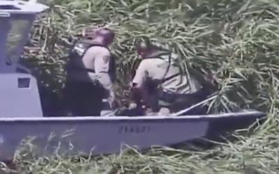 Human Smuggler Seen Doing SICK Act: Border Patrol Saves Kids
