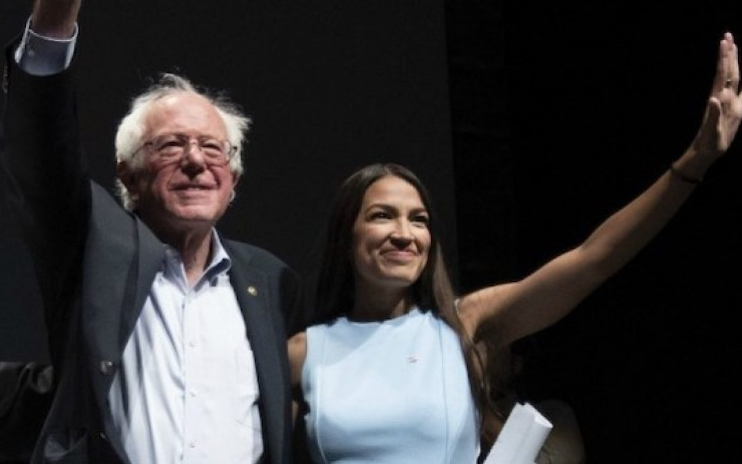 CBS Asks AOC: How Can A Woman of Color Back 'Old White Guy' Bernie Sanders?