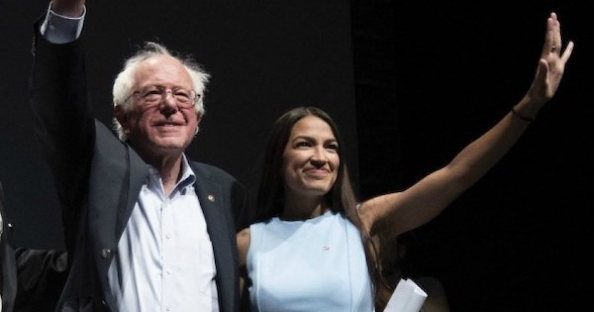 AOC Bernie Sanders