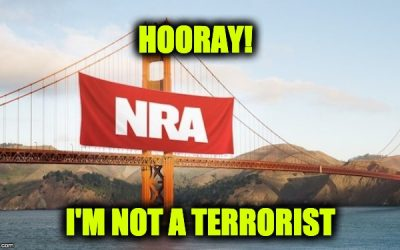 The Constitution WINS: SF Backs Down From NRA Is Terrorist Group Declaration