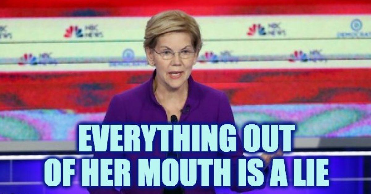 Elizabeth Warren liar