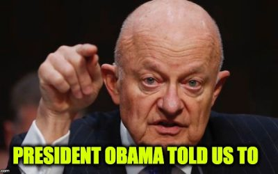 Clapper Admits Obama Directed Him To Go After The Trump Campaign